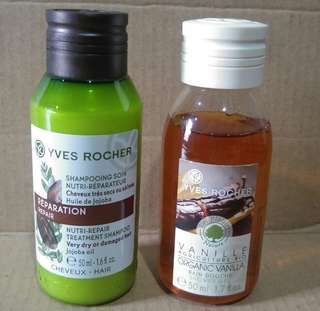 Yves Rocher shower gel & shampoo (50ml)
