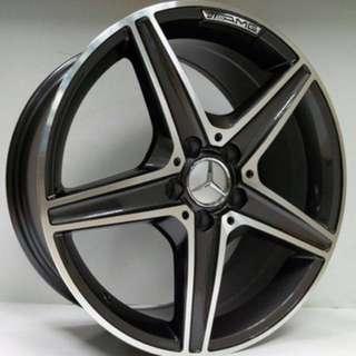 """""""18 Mercedes Designer Rim"""