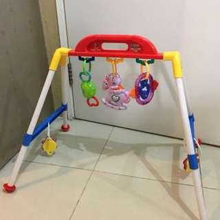 Mainan baby body building shelf