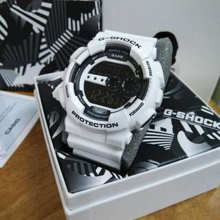 全新 A BATHING APE x G-SHOCK GD-100 BAPE GD 100 GD100