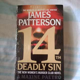 14th deadly sin James Patterson Books