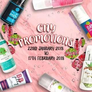 LOVERA CNY JAN 18 PROMOTIONS
