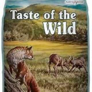 Taste of the Wild Grain Free Appalachain Valley Venison and Garbanzo beans small bites 2kg