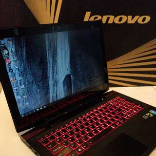 "Lenovo Y50-70 15"" Gaming Laptop i7 16GB RAM 1TB HDD"