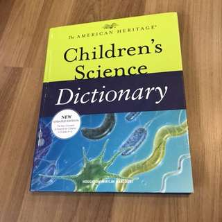 Children's Science Dictionary The American Heritage