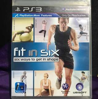 Fit in Six (Playstation Move Features)