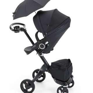 Stokke Xplory Stroller - True Black (Limited Edition)