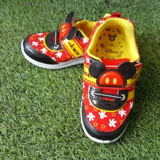 Mickey Mouse Shoe ~save 35%