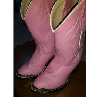 Toddler Girl (pink) authentic cowgirl boots