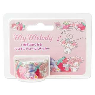 Japan Sanrio My Melody Masking Roll Sticker