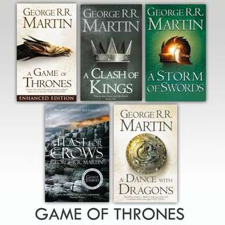 Game of Thrones Collection Ebooks