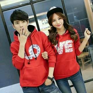 Couple hoodie flow