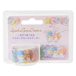 Japan Sanrio Little Twin Stars Masking Roll Sticker