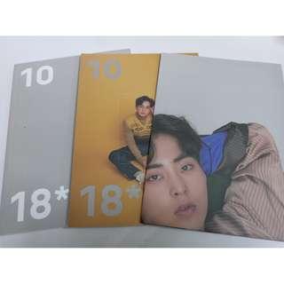 EXO 2018 年曆系列 xiumin部分