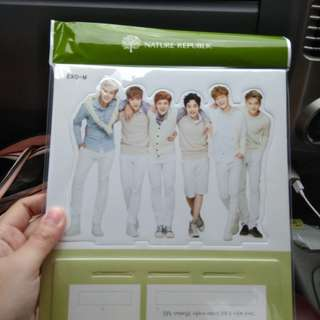 STANDEE EXO-M FROM NATURE REPUBLIC SPECIAL EDITION