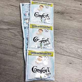 Comfort Ultra Pure Concentrated Fabric Conditioner Travel Pack