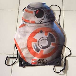 Star Wars BB8 drawstring backpack from Lego