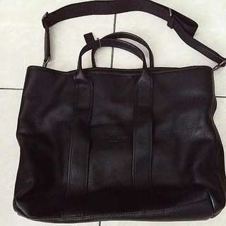 NEW COACH FULLY LEATHER