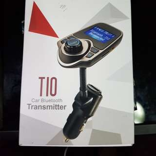 TIO Car Bluetooth Transmitter