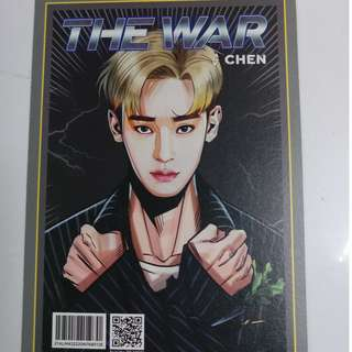 EXO《THE WAR》成員漫畫卡