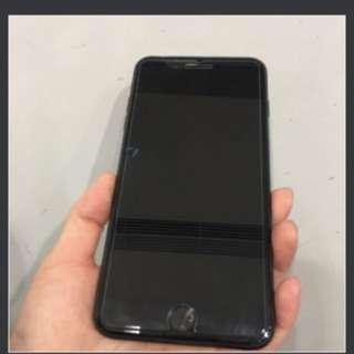 Iphone7plus 啞黑色128g