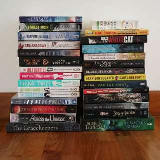 Massive Clearance of Young Adult and Fantasy Books