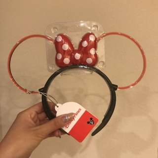 BNWT Disney Light Up Minnie Ears/Headband
