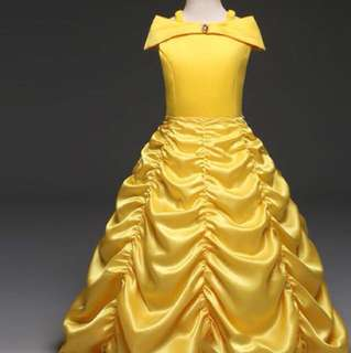 Kids Belle gown (FOR RENT)