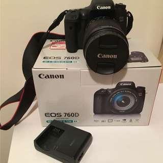 二手Canon EOS 760D + EF-S 18-135mm IS STM