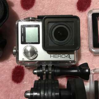 Repriced!!! Go Pro 4 Silver with accessories