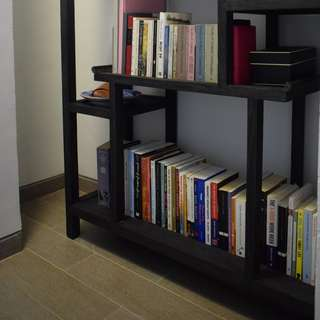 Bookshelf - Just Anthony - Beautiful solid wood bookshelf. $370, original price $1300