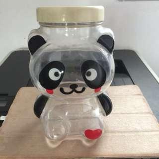 Plastic panda