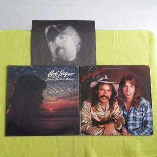 2LP. BOB SEGER/BELLAMY BROTHERS. the distance/ beautiful friends. (2 album for the price of 1) Vinyl record