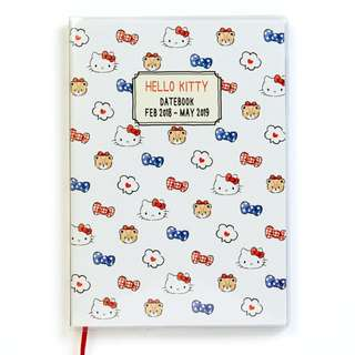 Japan Sanrio Hello Kitty B6 Date Book (beginning in April) 2018