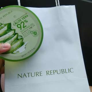 Aloe smoothing gel from NATURE REPUBLIC