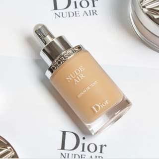 authentic dior nude air foundation in shade 020.