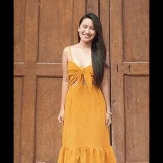 Tie front dress coordinates