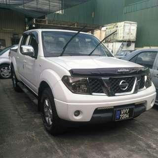 Nissan navara 2.5L double cab (4x4)diesel