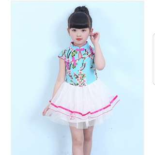 CNY Girl Qipao Cheongsam Dress M04