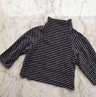 Zara Knitted Sweater Top