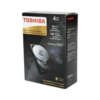 Toshiba NAS 7200rpm (3 years warranty)