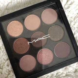 Mac x9 burgundy palette