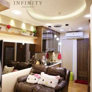 dijual apartemen green bay 2BR full furnished tower B
