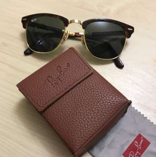 全新RayBan Folding Sunglasses (抽獎禮物,不合本尊面形,只試戴過)
