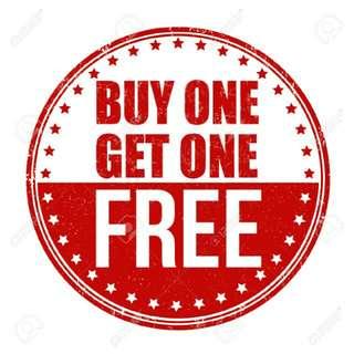 Buy 1, Get 1 Free!!!!