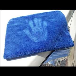 500gsm Super Plush Edgeless Microfiber Cloth/Towel 40*40cm 70/30 blend