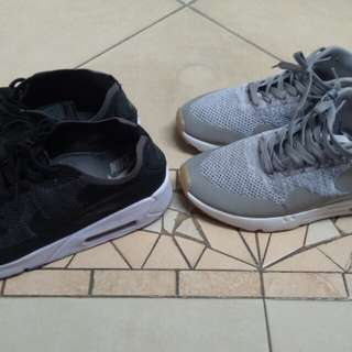 Nike shoes airmax abu2 dan hitam