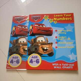 Cars Learn your numbers