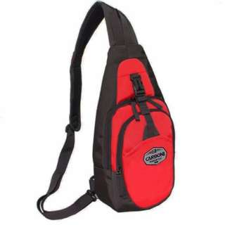 Carboni waistbag Tas Ransel Tali Satu AA00047 material parasut waterproof - red