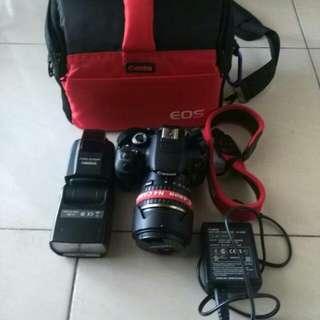 Camera canon 650d